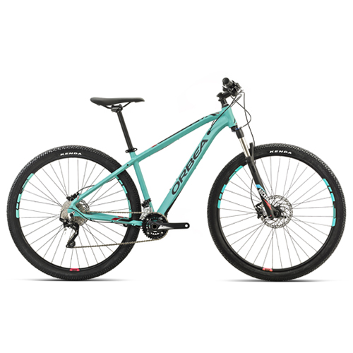 Image of   Orbea MX10 mountainbike med 20 gear - Jadegrøn/rød