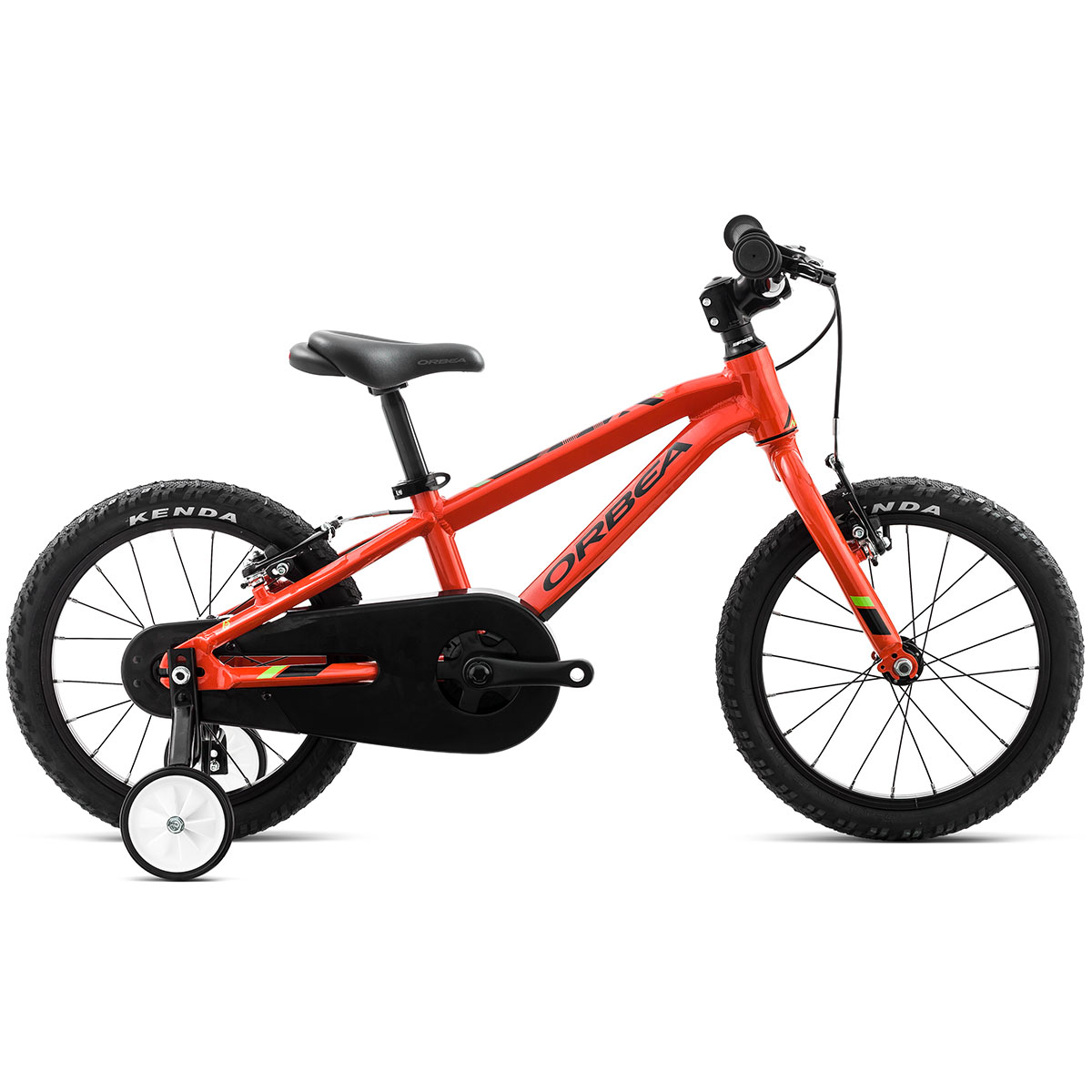"Orbea MX16 Dirt 16"" mountainbike - Orange/grøn"