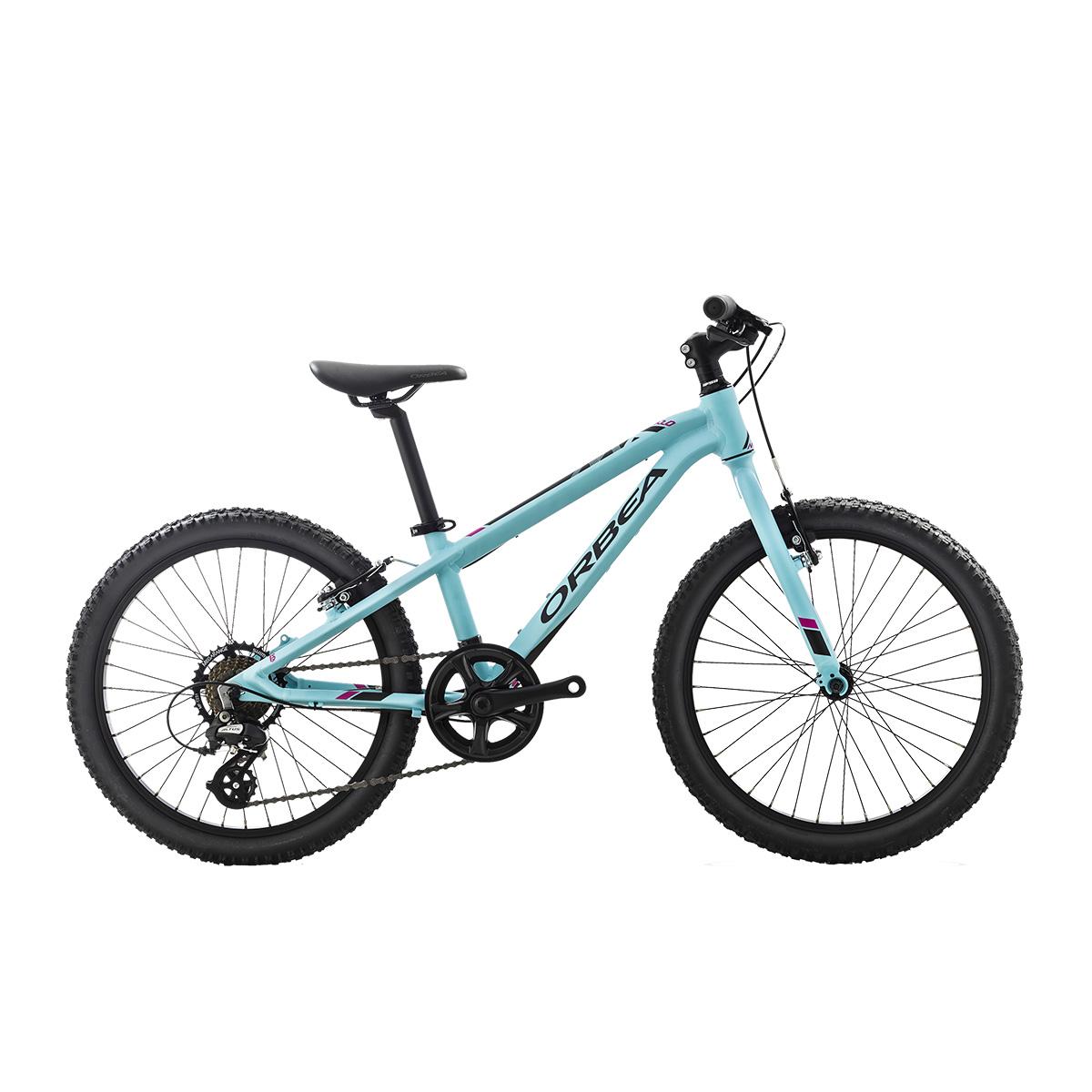 "Image of   Orbea MX20 Dirt 20"" mountainbike med 7 gear - Blå/pink"