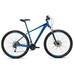 """Orbea MX50 29"""" mountainbike med 21 gear - Blå/rød"""