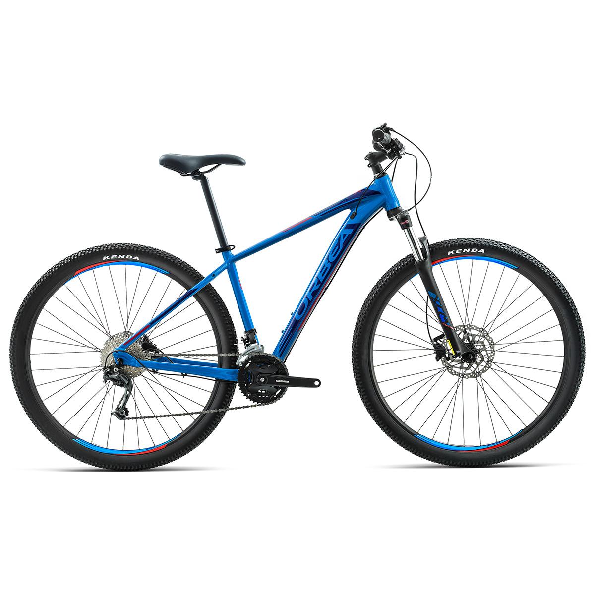 Image of   Orbea MX50 mountainbike med 21 gear - Blå/rød