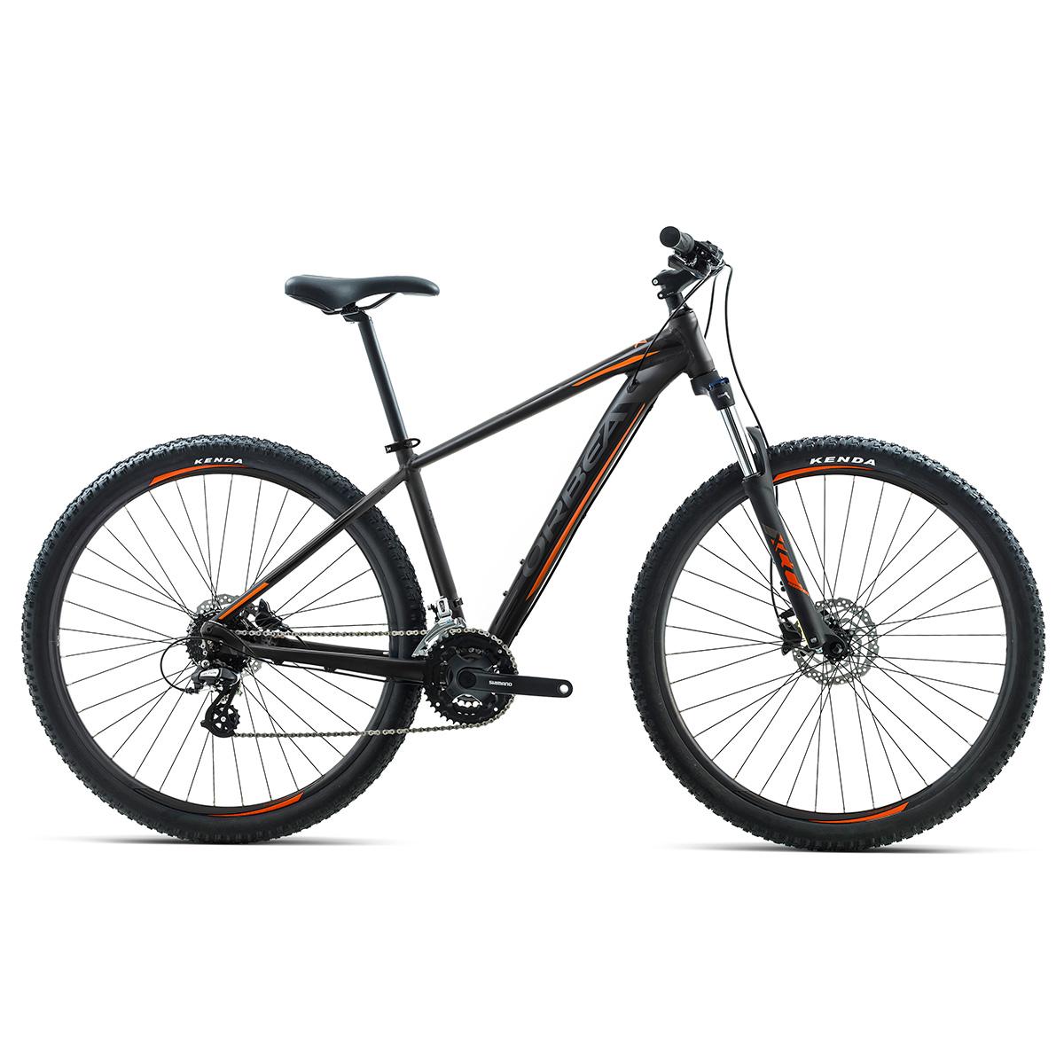 Image of   Orbea MX50 mountainbike med 21 gear - Sort/orange