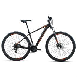 Orbea Mx50 Mountainbike Med 21 Gear - Sort/orange