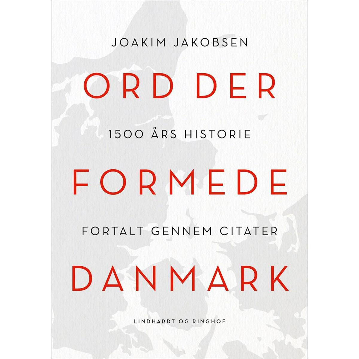 Image of   Ord der formede Danmark - Hardback