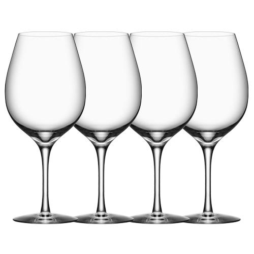 Image of   Orrefors rødvinsglas - More - 4 stk.