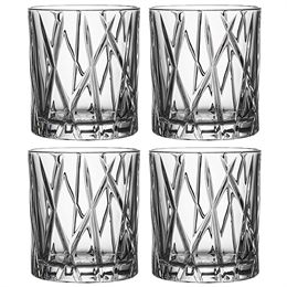 Image of   Orrefors whiskyglas - City Old Fashion - 4 stk.