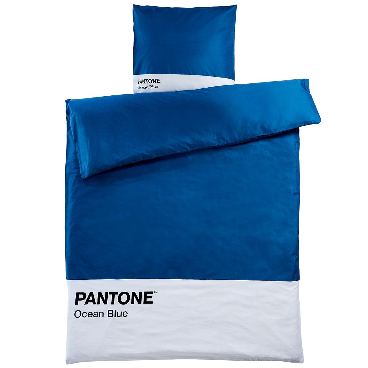 Image of   Pantone sengetøj - Ocean Blue