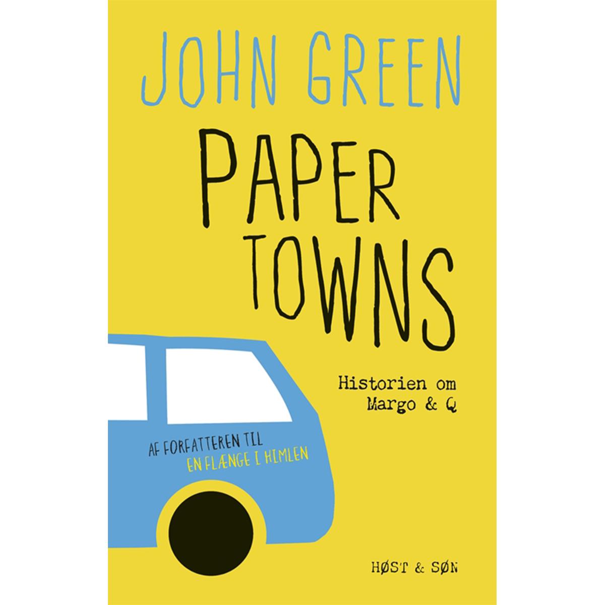 Paper Towns - historien om Margo & Q - Hæftet