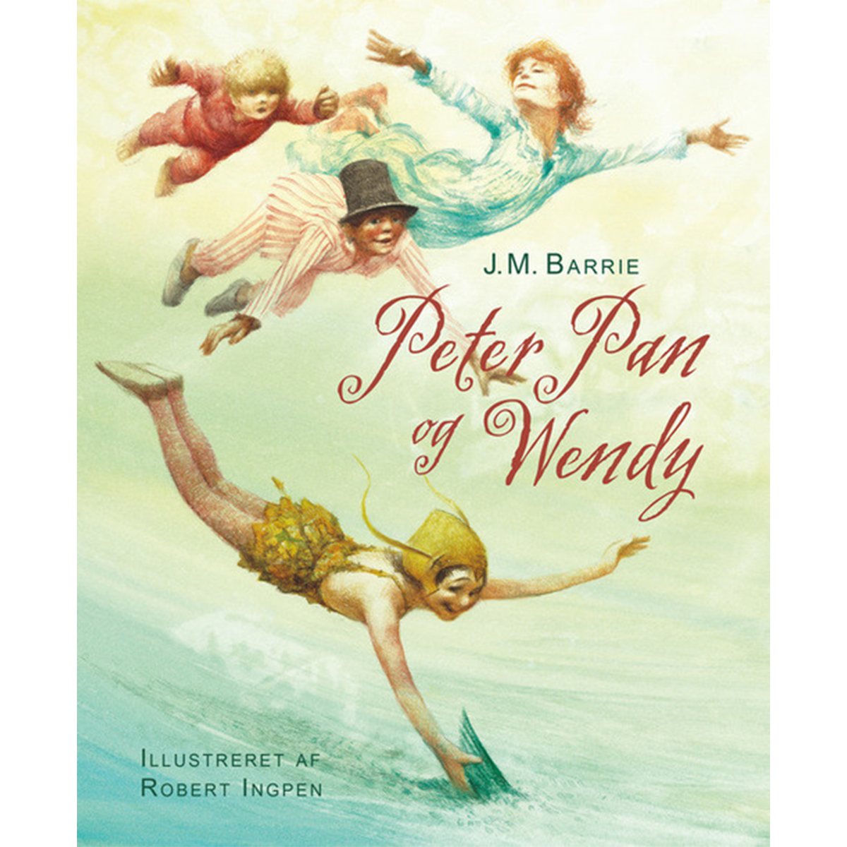 Image of   Peter Pan og Wendy - Indbundet