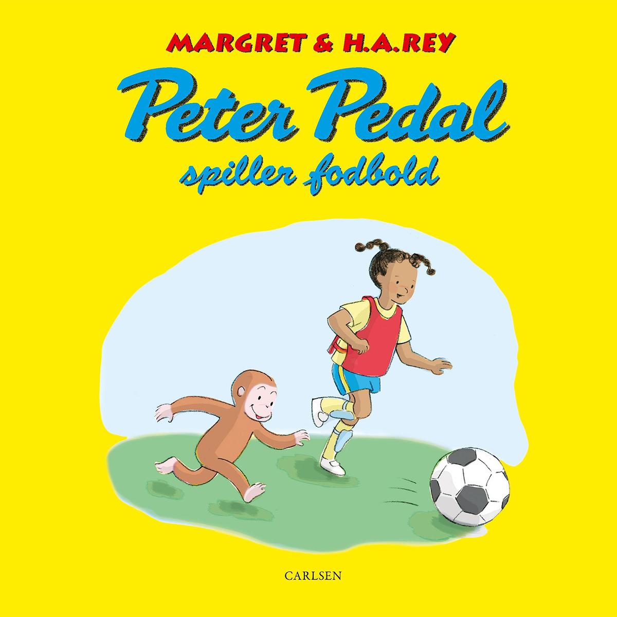 Image of   Peter Pedal spiller fodbold - Hardback