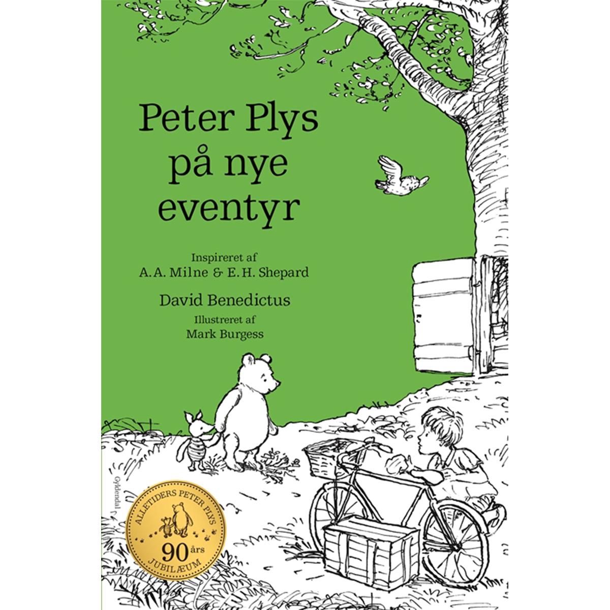Image of   Peter Plys på nye eventyr - Indbundet