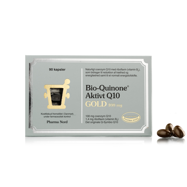 Billede af Pharma Nord Bio-Quinone Aktivt Q10 Gold - 100 mg - 90 stk.