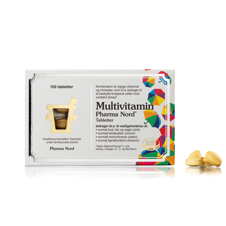 Billede af Pharma Nord Multivitamin - 150 stk.