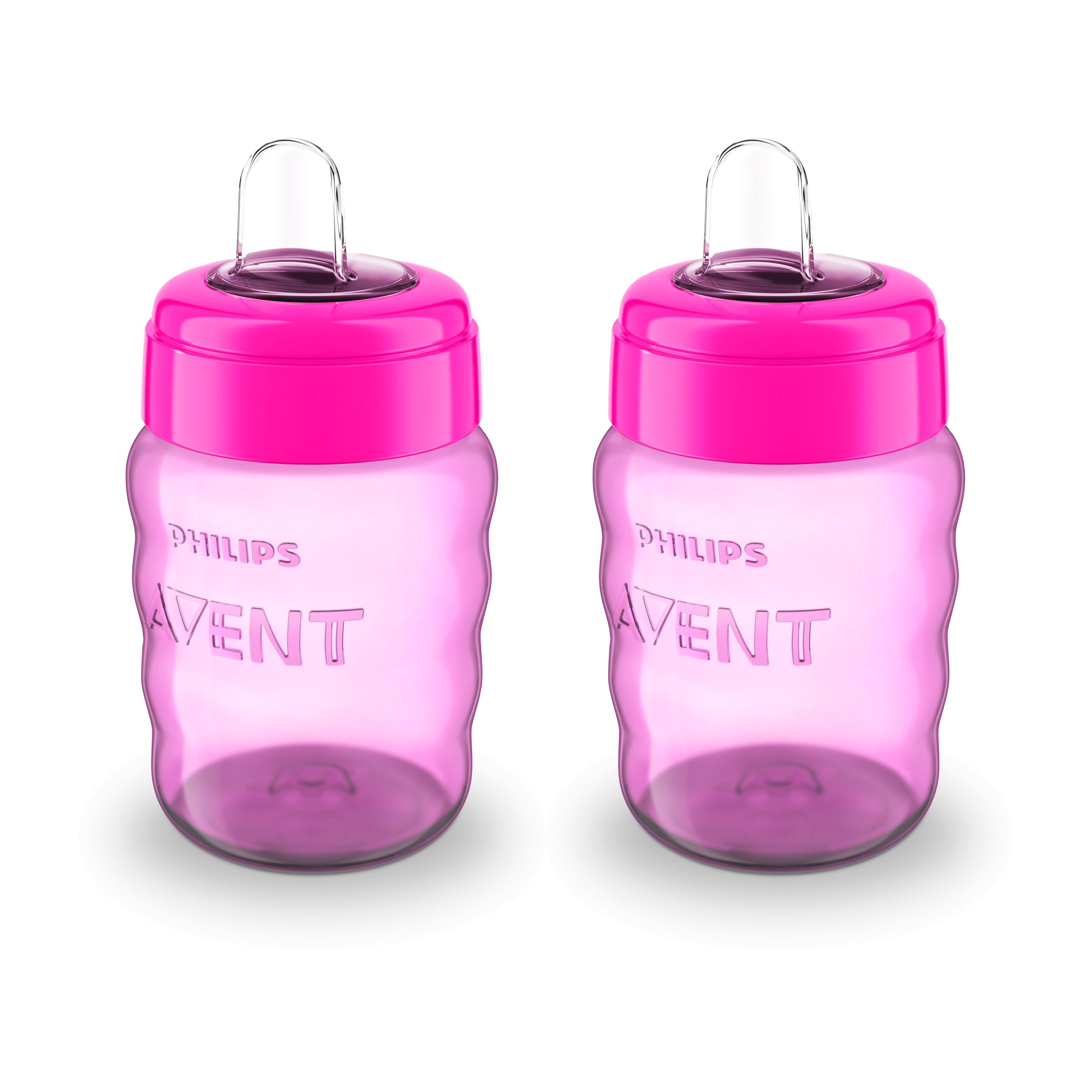 Philips Avent drikkekop - 260 ml - Pink - 2 stk.