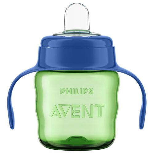 Billede af Philips Avent drikkekop med hanke - 200 ml - Grøn/blå