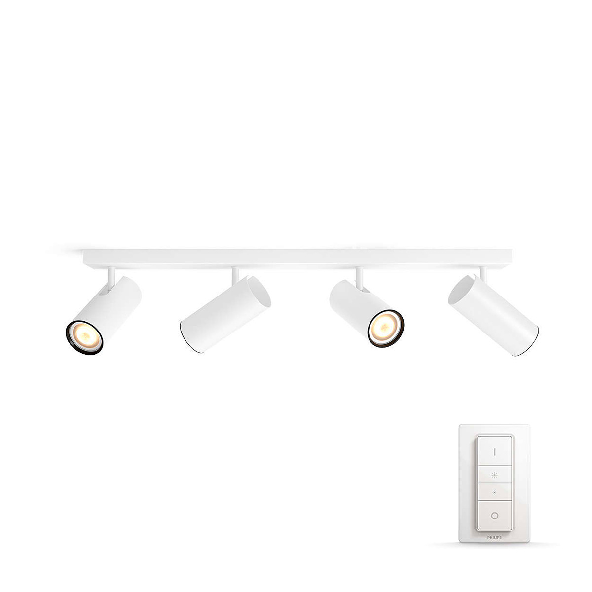 Image of   Philips Connected loftlampe med spot - White ambiance - Buratto - Hvid