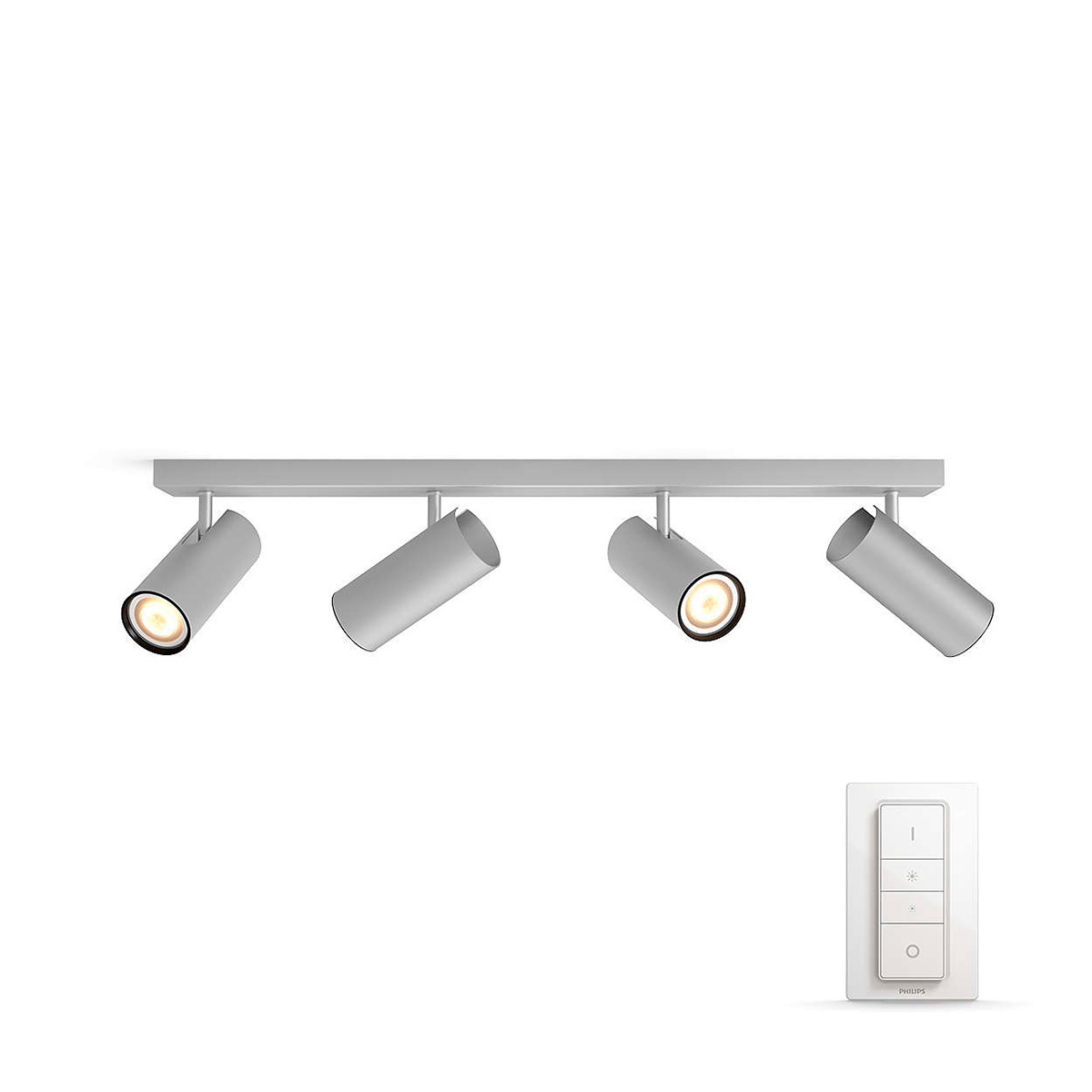 Image of   Philips Connected spot - White ambiance - Buratto - Aluminium