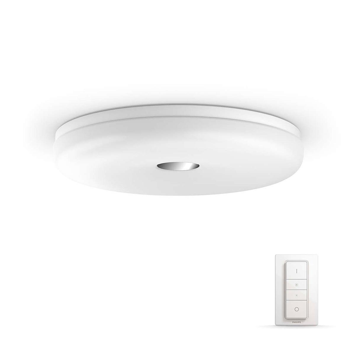 Billede af Philips Hue loftlampe - White ambiance - Struana - Hvid