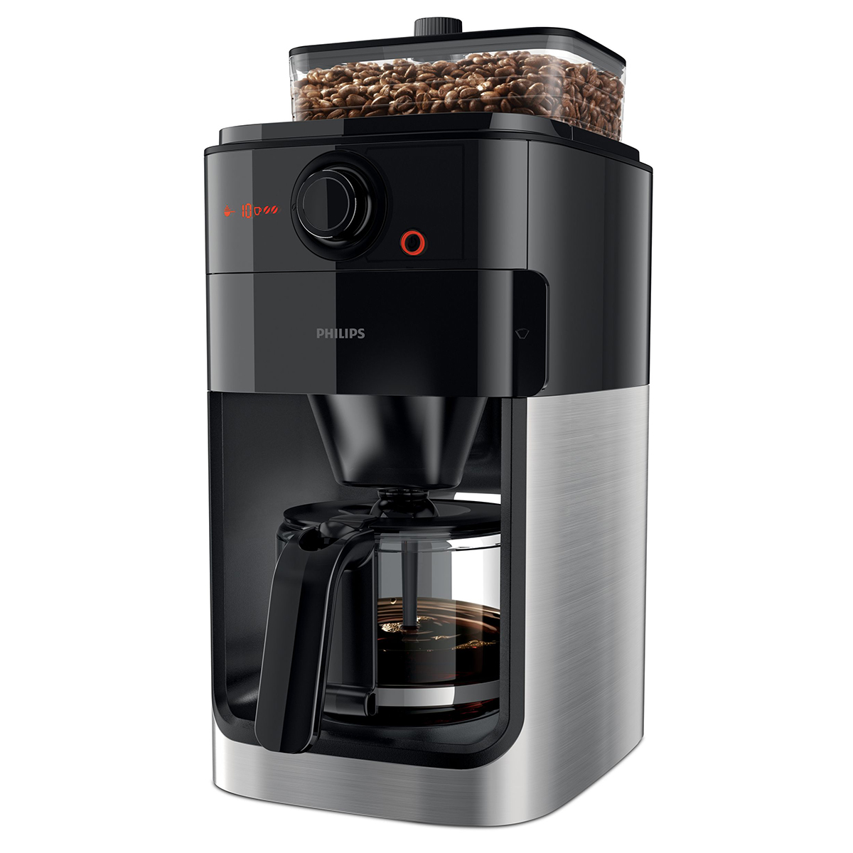 Image of   Philips kaffemaskine - Grind & Brew - HD7765/00