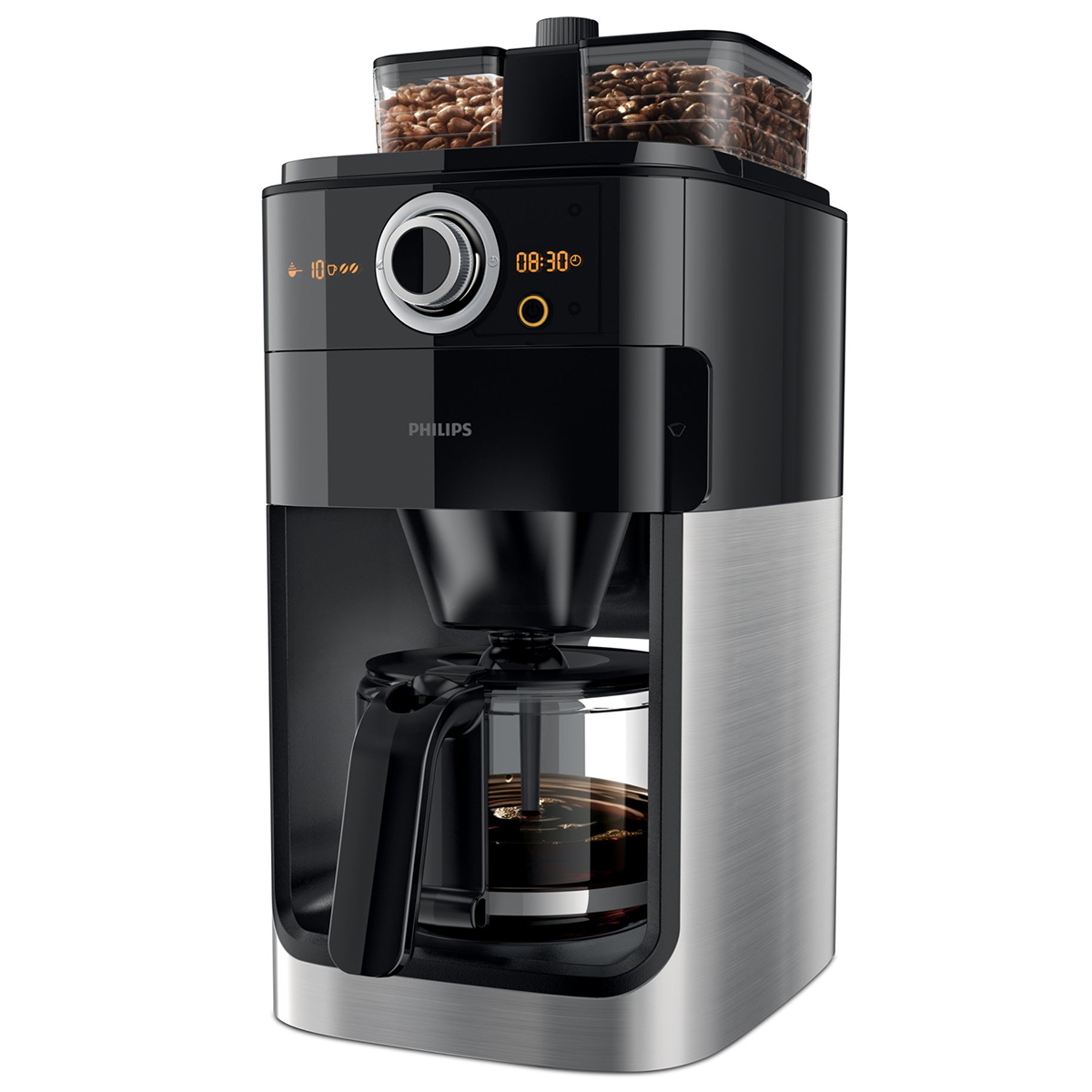 Image of   Philips kaffemaskine - Grind & Brew - HD7766/00