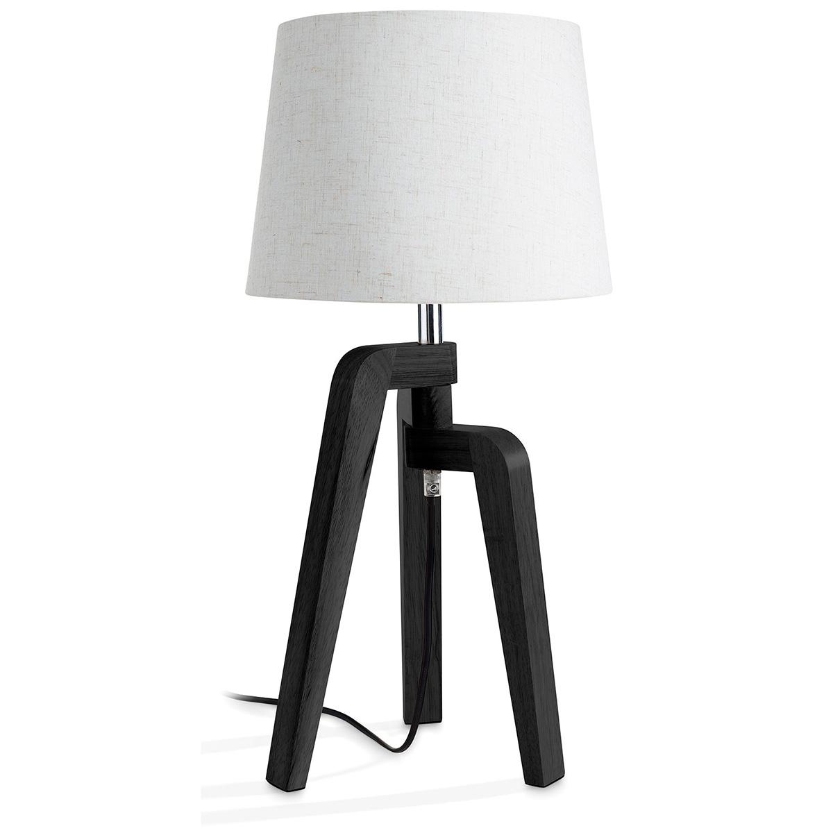 Image of   Philips myLiving bordlampe - Gilbert - Sort/hvid