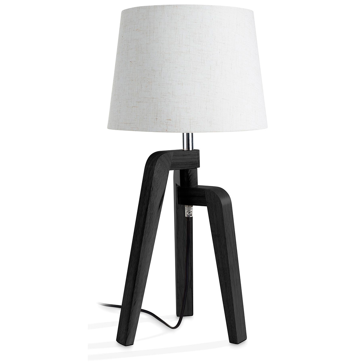 Image of   Philips myLiving bordlampe - Gilbert - Sort/hvid