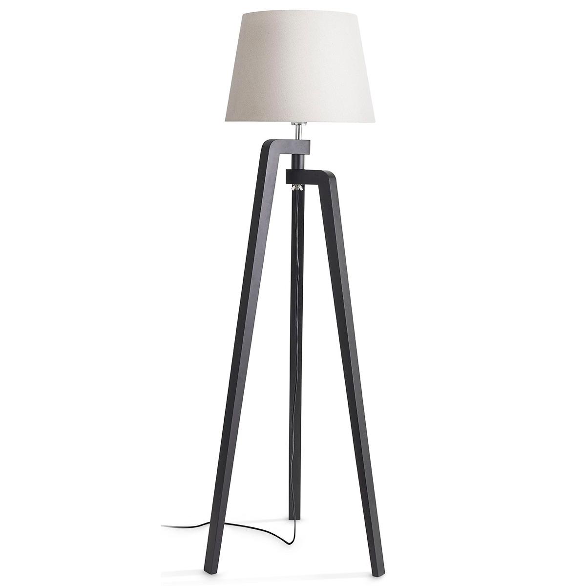 Philips myLiving gulvlampe - Gilbert - Sort/hvid