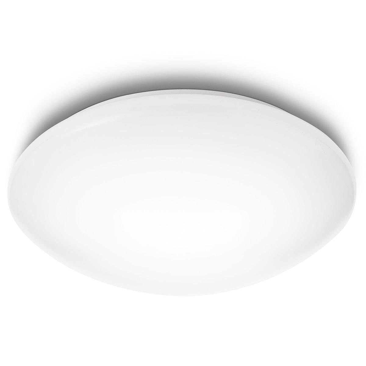 Billede af Philips myLiving loft- og væglampe - Suede - Hvid