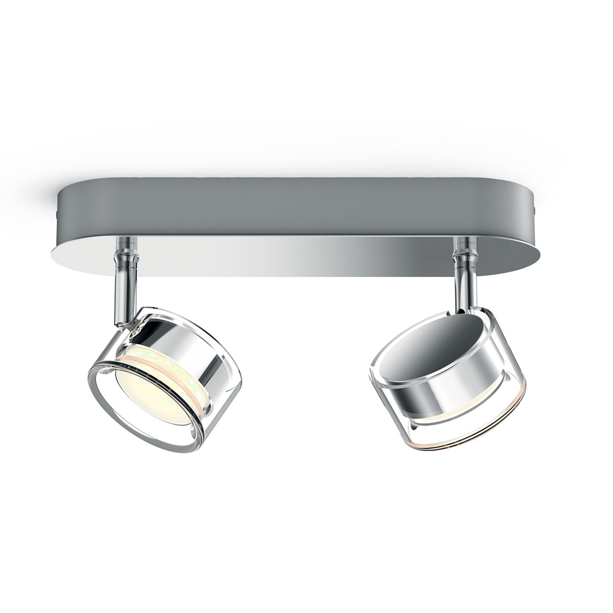 Image of   Philips myLiving loftlampe med spot - Worchester - Krom