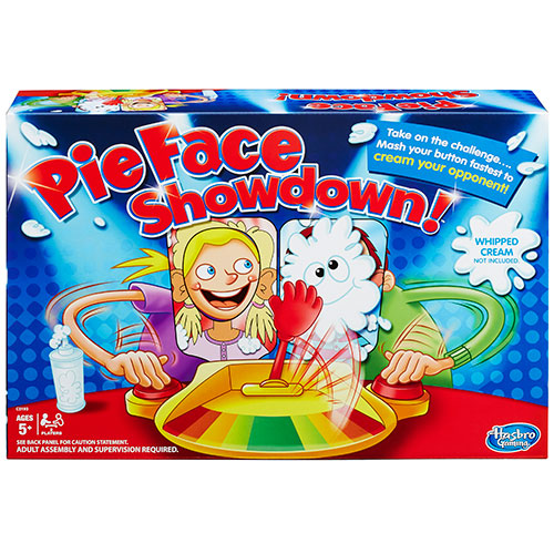 Image of   Pie Face Showdown
