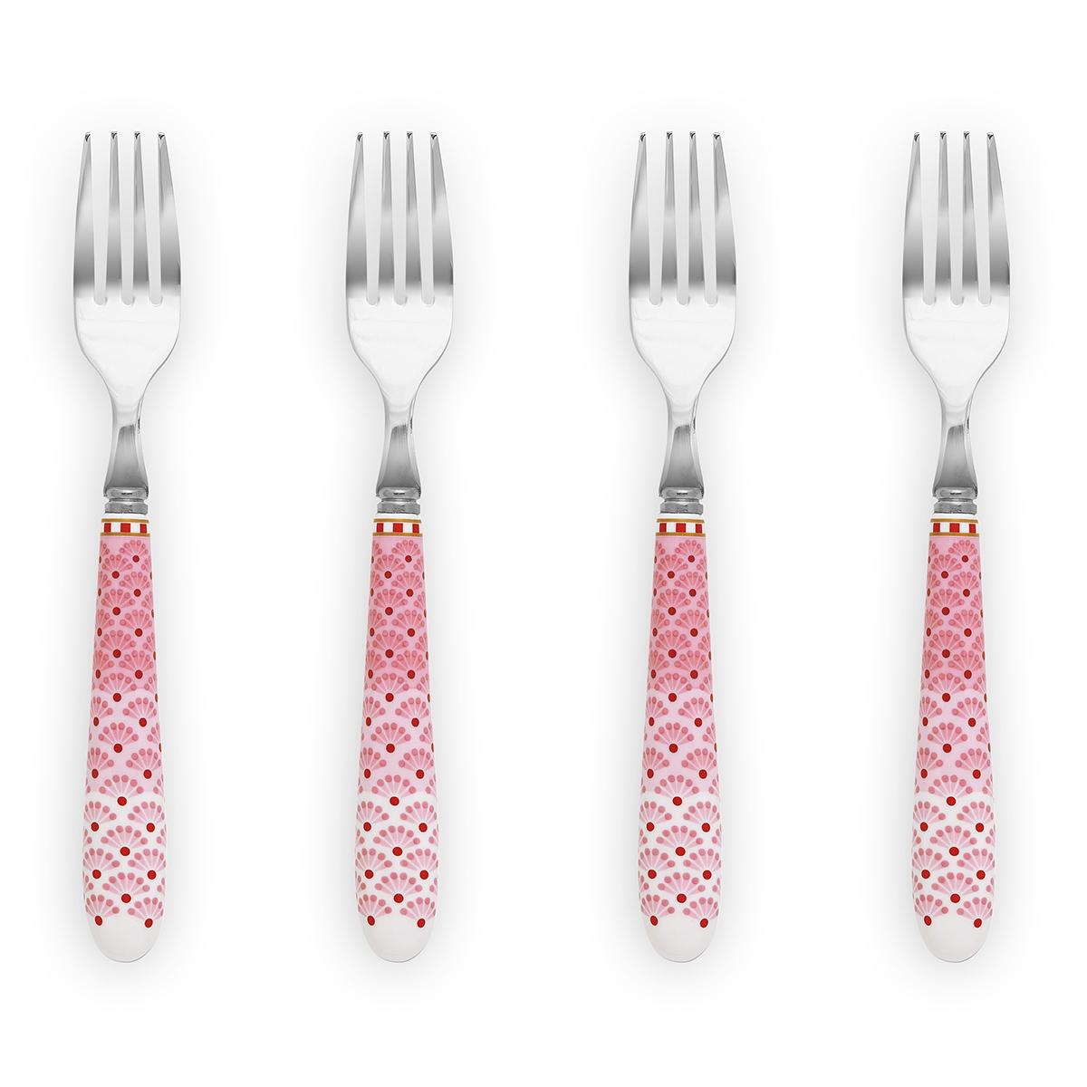Image of   Pip Studio kagegafler - Floral - Pink