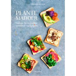Billede af Plantemadder - Grønne håndmadder, sandwich og burgere - Hardback