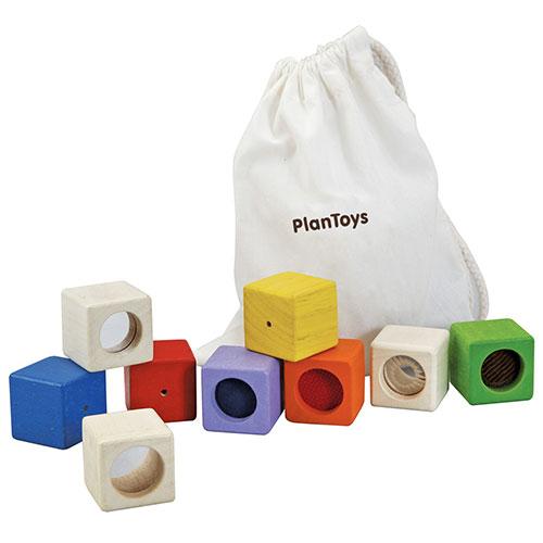 Image of   Plantoys aktivitetsklodser