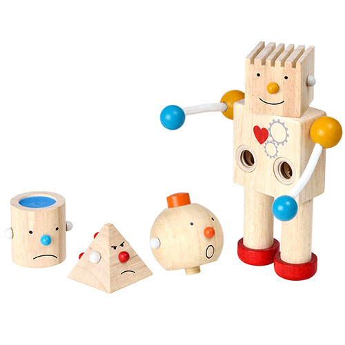 Image of   Plantoys byg-selv-robot