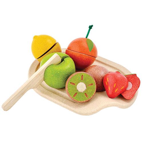 Image of   Plantoys legemad - Blandet frugt