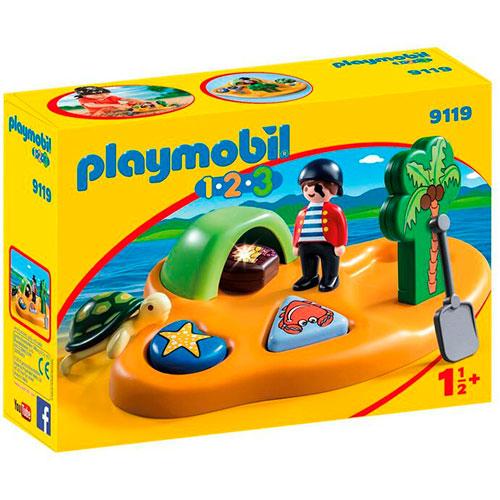 Image of   Playmobil 1.2.3 piratø