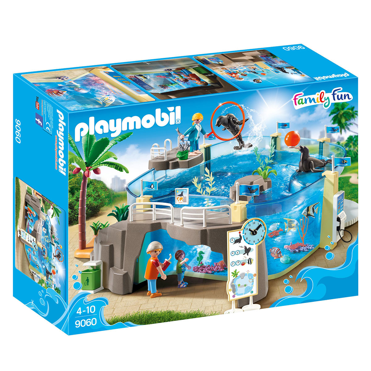 Image of   Playmobil akvarie