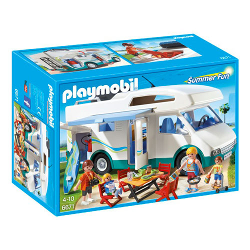 Image of   Playmobil autocamper