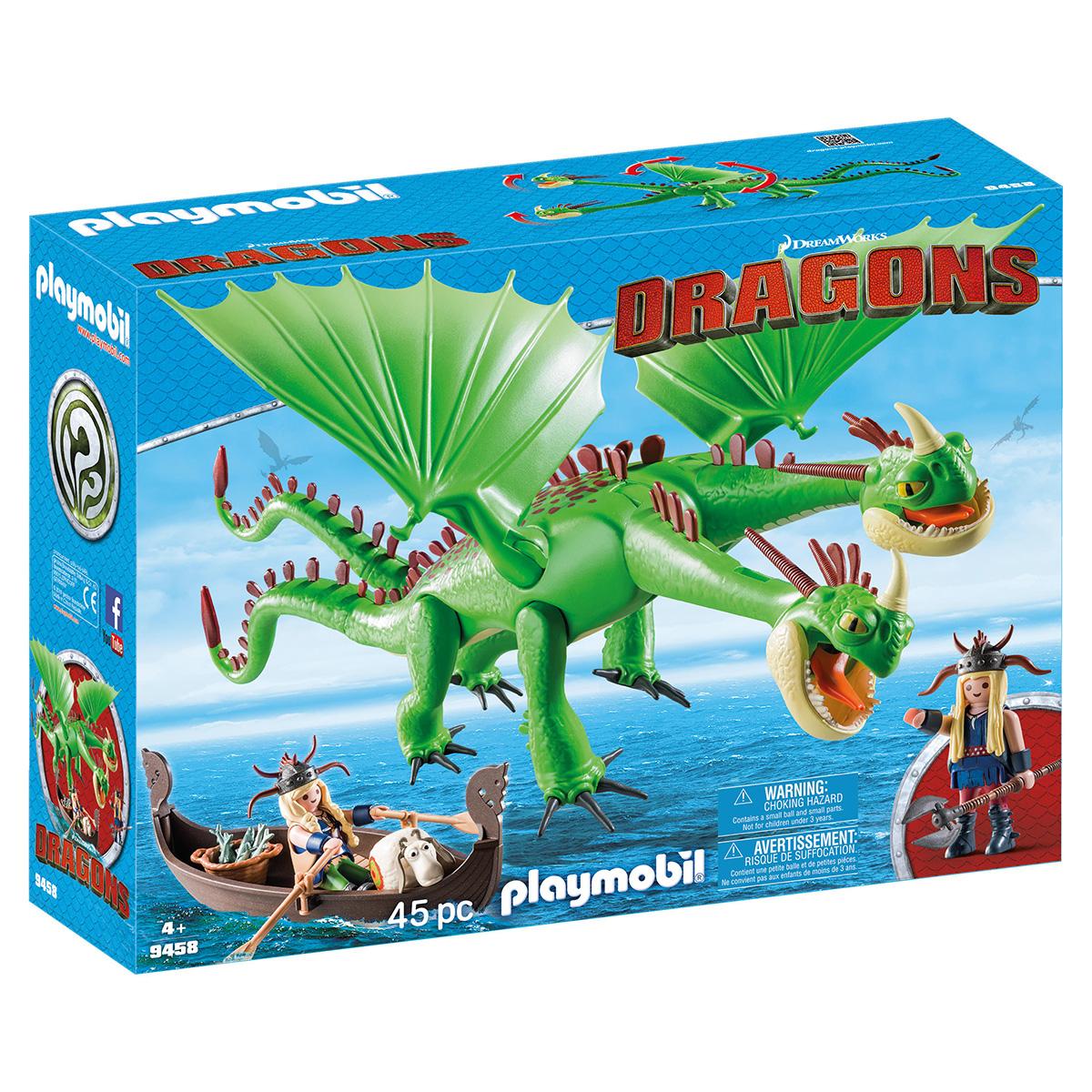 Billede af Playmobil Benknold og Stenknold med Bøvs og Bræk