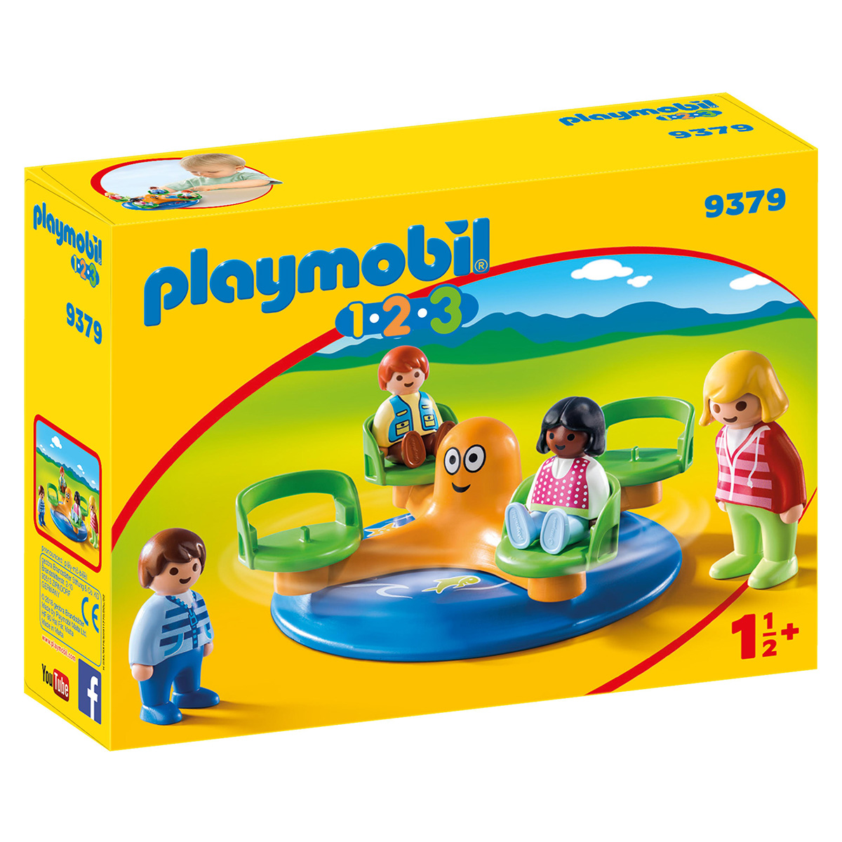 Image of   Playmobil børnekarrusel