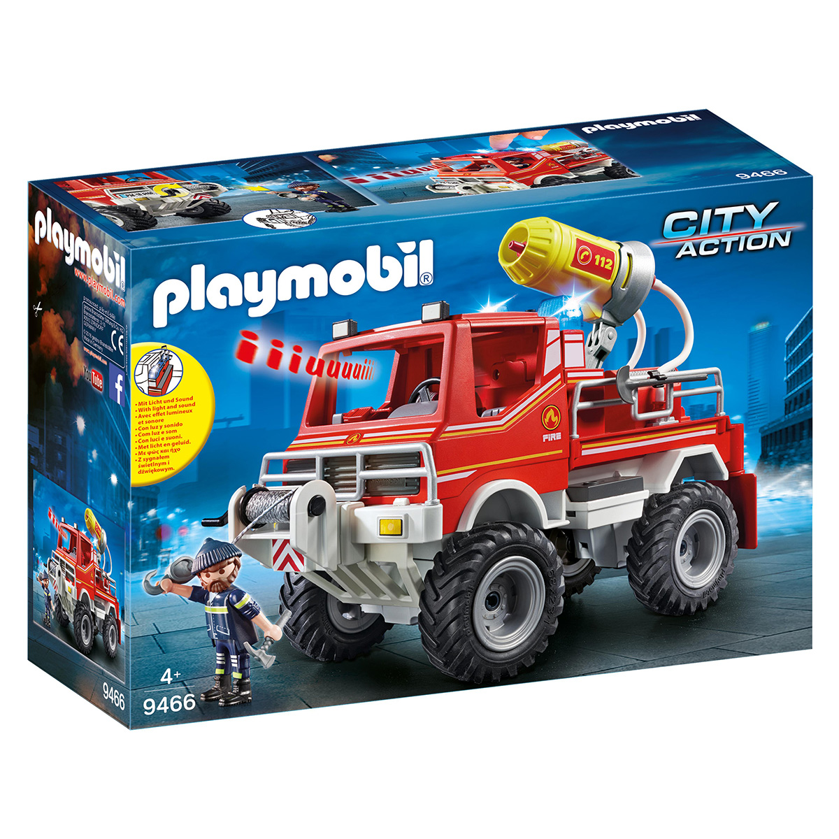 Image of   Playmobil brandbil