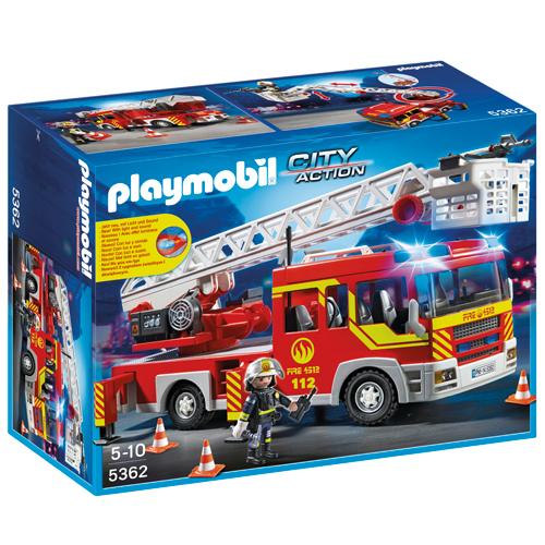 Image of   Playmobil brandbil med lys og lyd