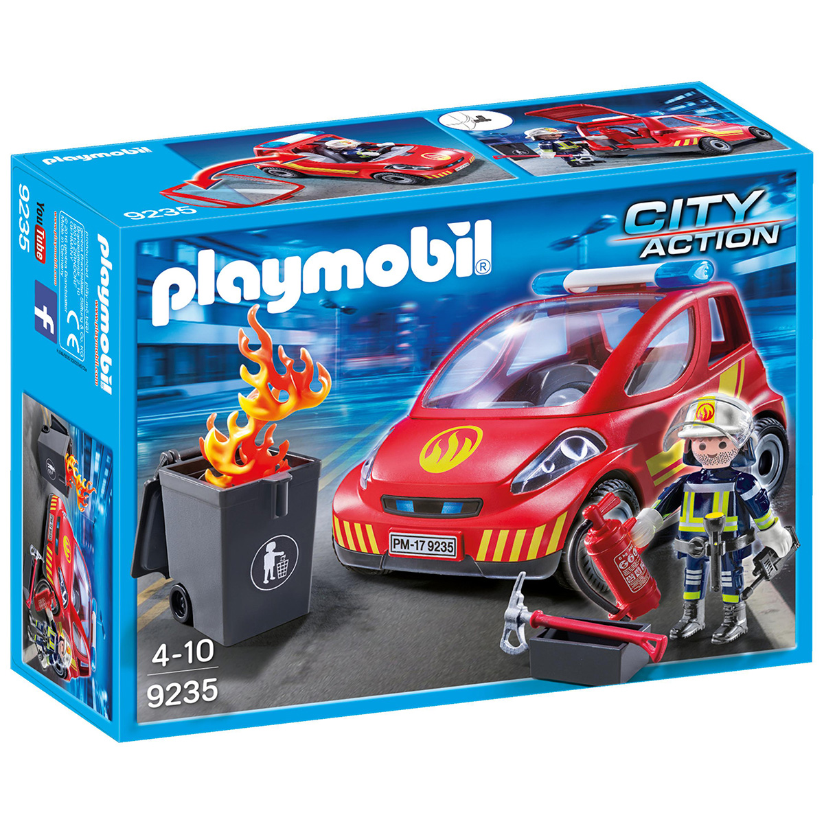 Image of   Playmobil Brandmand med bil