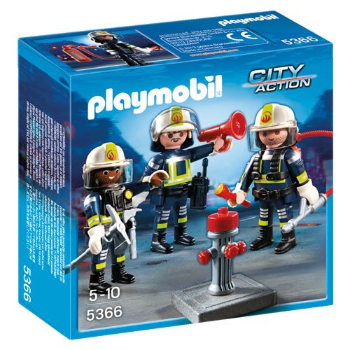Image of   Playmobil brandmandsteam