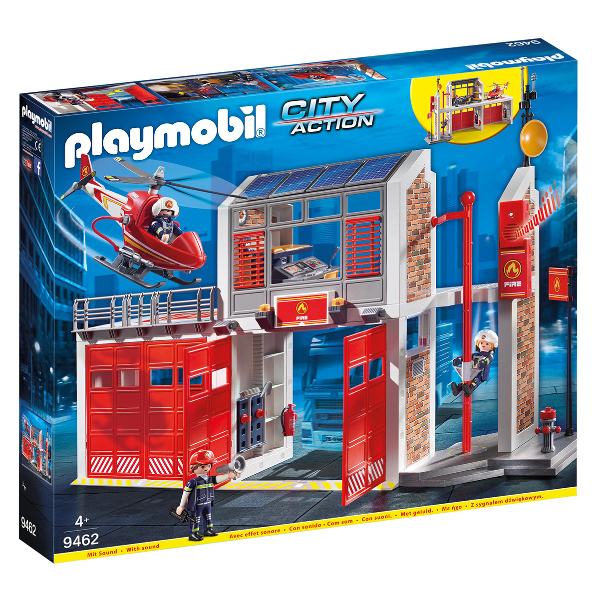 Image of   Playmobil Brandstation