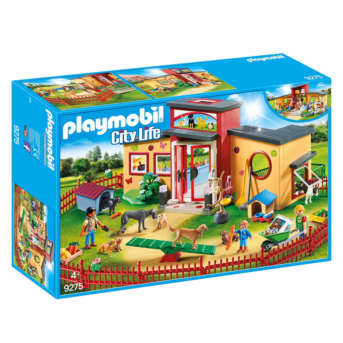 Image of   Playmobil Dyrehotel
