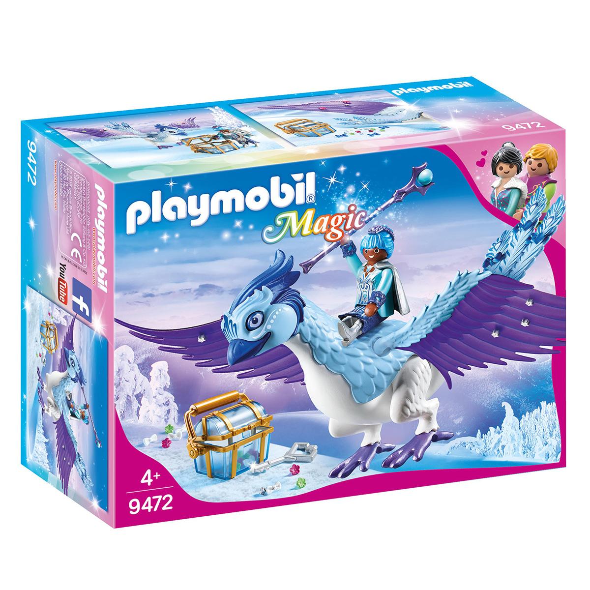 Image of   Playmobil Fantastiske Føniks