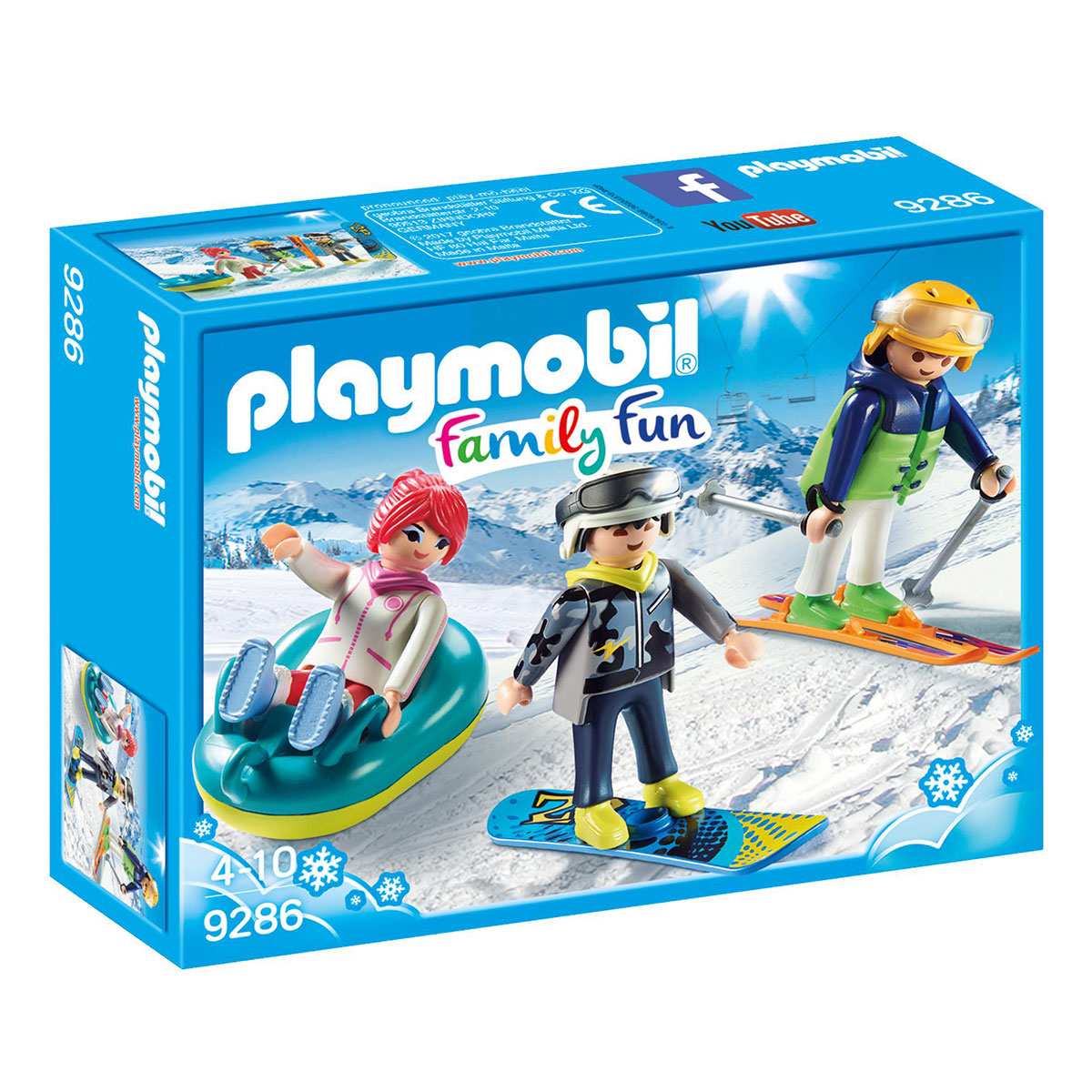 Image of   Playmobil Fritids-vintersportsmand