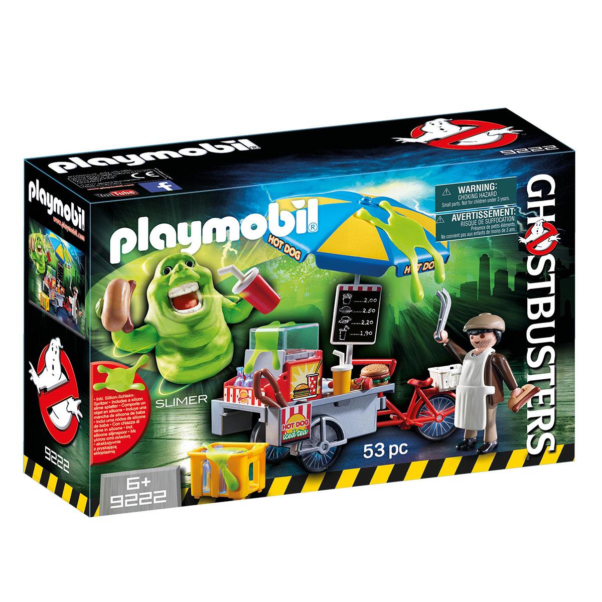 Billede af Playmobil Ghostbusters - Slimer med pølsebod