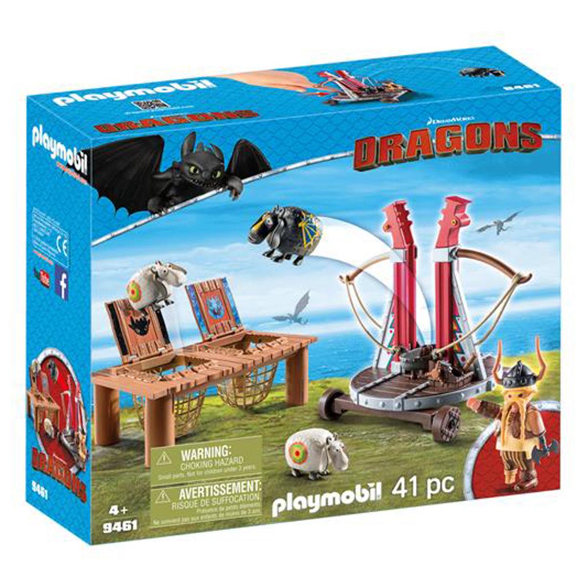 Billede af Playmobil Gorbert Knaldræb med fåreslynge